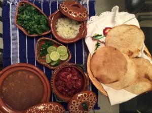 En loza mexicana. Foto: Marisa Núñez