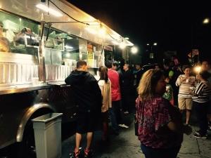 Tacos El Pecas, en Los Ángeles. Foto: Victoria Infante