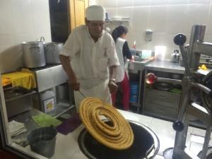 churros La Bombilla