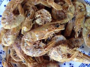 camarón seco